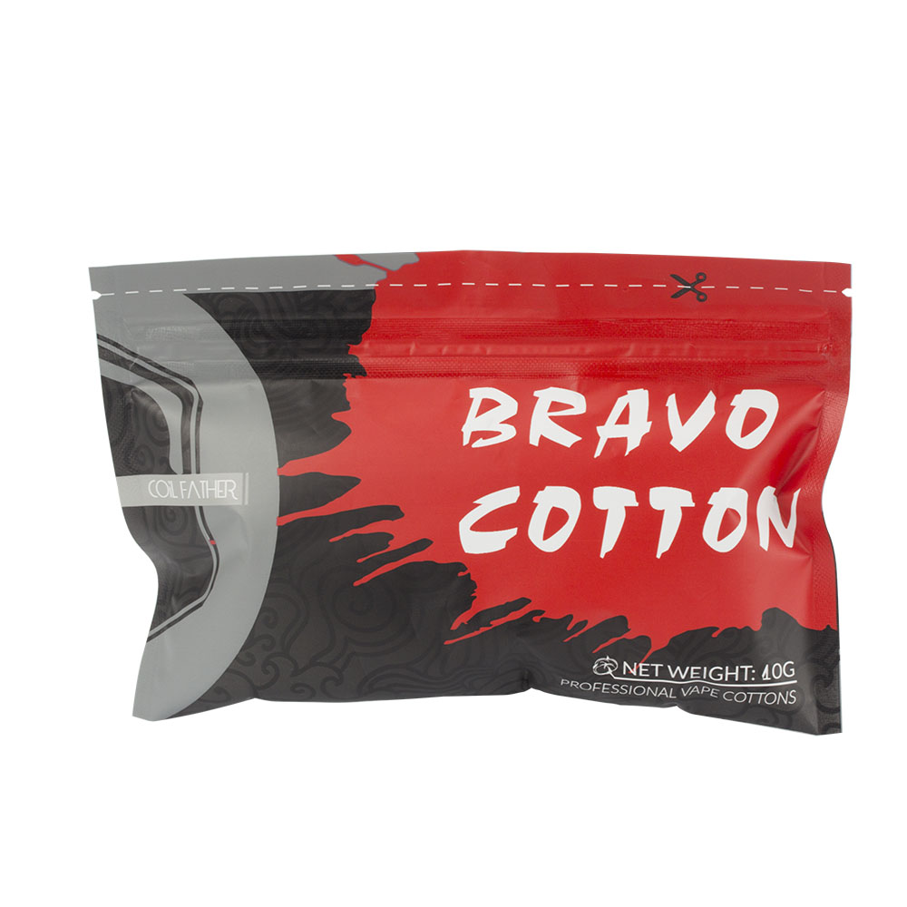 US $1 19 22% OFF|Coil Father Bravo Cotton Organic Cottons Vape For  Electronic Cigarette Rebuildable RDA RBA DIY Atomizer Heating Wire-in  Electronic
