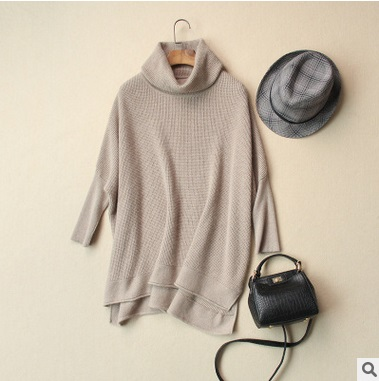 In the autumn of 2016 product release, the original design loose big yards 60% cashmere 40% wool women sweater