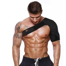 Ajustável respirável ginásio esportes cuidados ombro único suporte de volta cinta guarda cinta envoltório cinto bandagem almofadas preto masculino/feminino