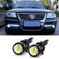 LED DRL Eagle Eye Daytime Running Lights Luz de Estacionamiento Para VW Polo Escarabajo Golf 4 5 7 6 T5 Sedan Tiguan Touran Bora Passat B5 B6