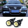 LED DRL Eagle Eye Daytime Running Lights Parking Light For VW Polo Beetle Golf 4 5 7 6 Passat B5 B6 T5 Touran Bora Sedan Tiguan