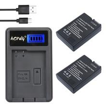 AOPULY 2 Pcs EN-EL14 ENEL14 EN EL14 Baterias + Carregador USB LCD para nikon d5200 d3100 d3200 d5100 d5200 p7000 p7100 p7800 câmera