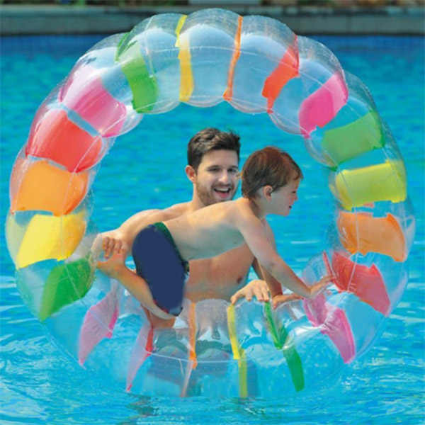 Hot Sale Large Inflatable Land Wheel Jumbo Party Wheel Kids Indoor Outdoor Pool Playing 19ing