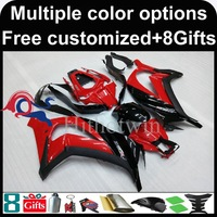 Red Black Motorcycle Cowl For Kawasaki ZX10R 11 13 2011 2012 2013 ZX10R 2011 2013 11