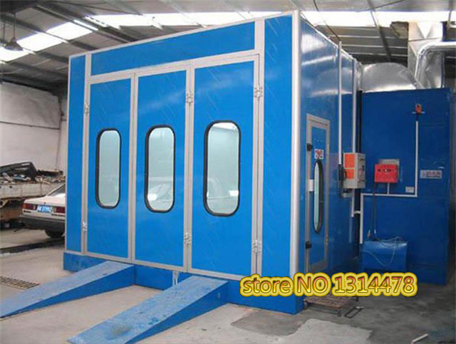 Economy type Automotive Paint Barn Environmental Spray Booth Oil Baking Finish House, car baking room