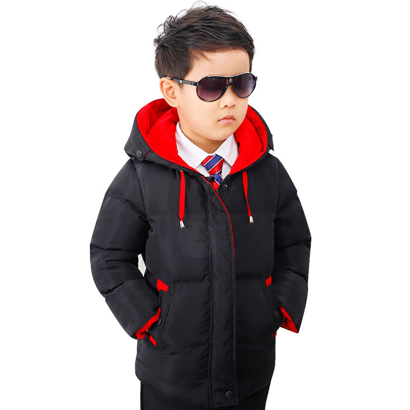 2018 New kids winter jackets for boys outerwear cotton coats children Warm snowsuit jacket boys hooded Overcoat baby down parkas winter cotton jacket hooded coats women clothing down cotton parkas lady overcoat plus size medium long solid warm jacket female