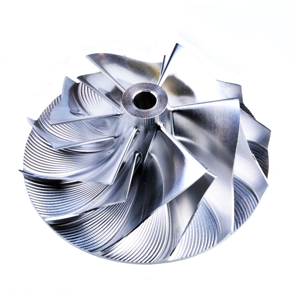 Kinugawa توربو الخام ضاغط عجلة 53.11/70.98 ملليمتر 6 + 6 عكس لميتسوبيشي TD05HR مخصص 20 جرام