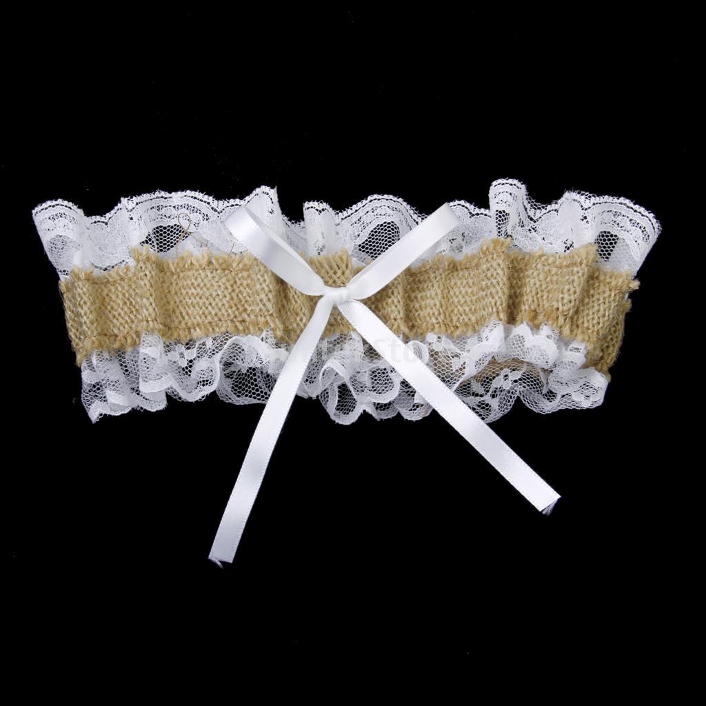 Country Wedding Garters: Aliexpress.com : Buy Garter Country Romance Jute Burlap