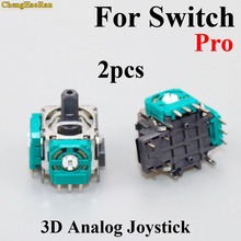 2pcs Original Replacement part 3D Analog Joystick Stick cap Joystick Sensor Module For Nintend Switch NS Pro controller joypad стоимость