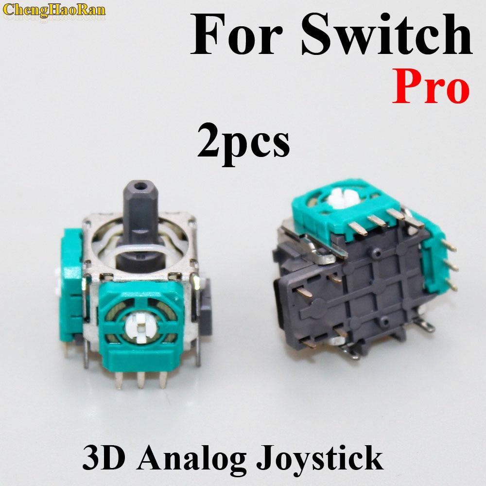2pcs Original Replacement part 3D Analog Joystick Thumb Stick Joystick Sensor Module For Nintend Switch NS Pro controller joypad