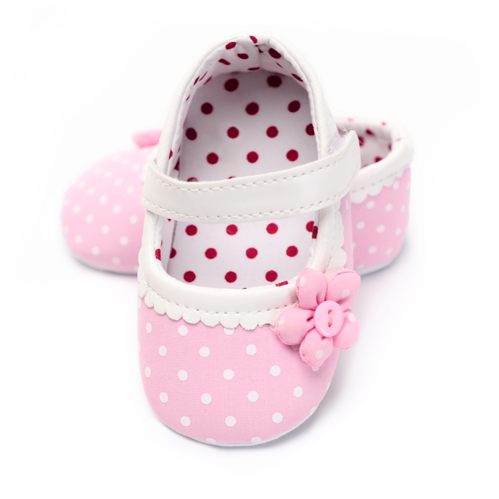 Cute Newborn Footwear Baby Girl Shoes New Infant Princess Soft Sole Anti-slip Lace Up Little Flower 0-18 Months Spring/Autumn
