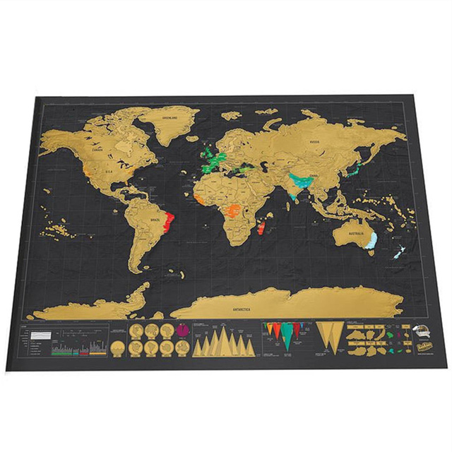 Luxury edition black design deluxe scratch map travel scratch world luxury edition black design deluxe scratch map travel scratch world map best giftease personalized room home gumiabroncs