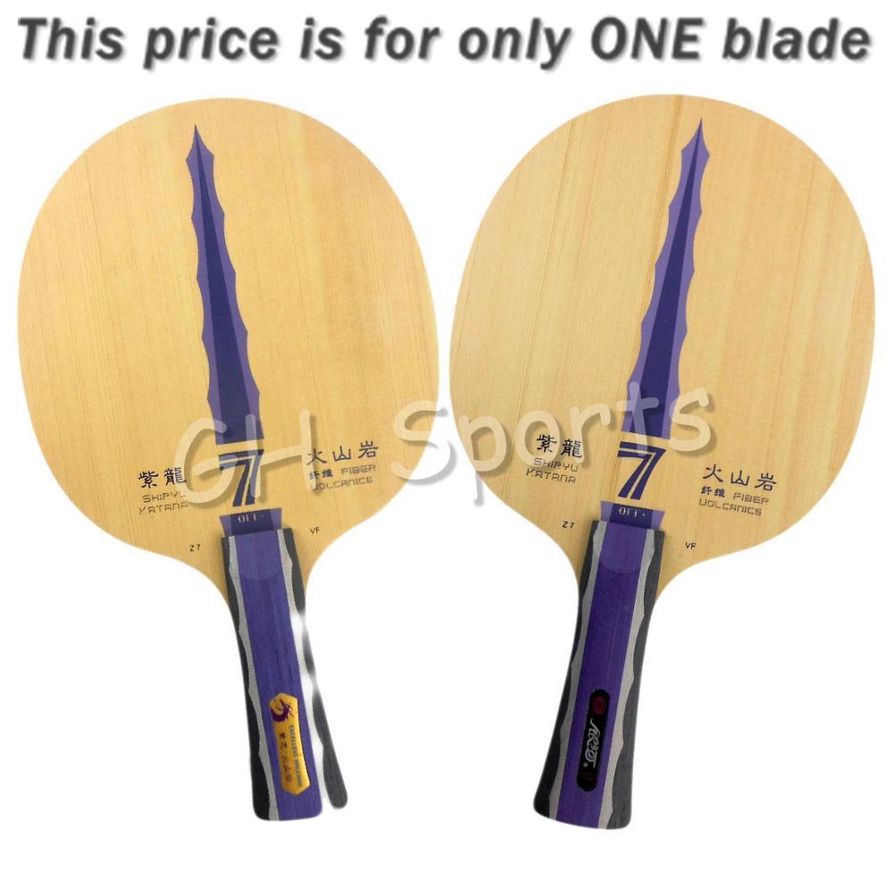 Galaxy Milky Way Yinhe Shiryu Katana Z7 VF Volcanics Fiber Table Tennis Blade for PingPong Racket