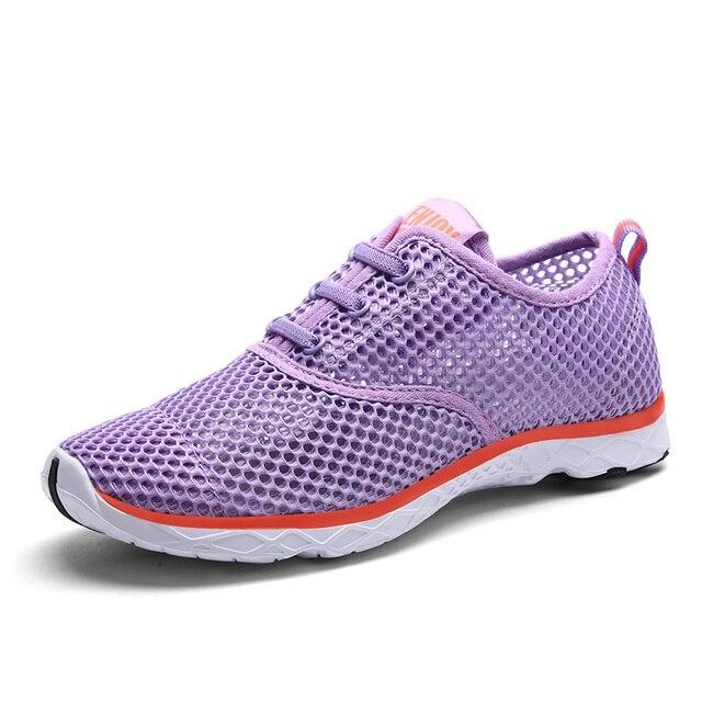 De Las Mujeres del verano de Malla de Aire Zapatos de Moda 360 Grados Zapatos Ocasionales Respirables recortes Zapatos Amante