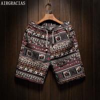 Men Board Shorts Brand Mens Beach Shorts Homme Surf Short Pants Plus Size 5XL Cotton Linen