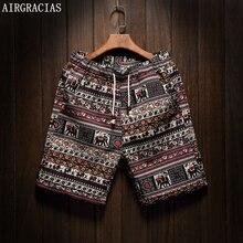Airgracias Для мужчин Лето совета Шорты бренд Для мужчин S Пляжные шорты Homme Короткие штаны Размеры 5XL хлопок белье Sunga бермуды Masculina