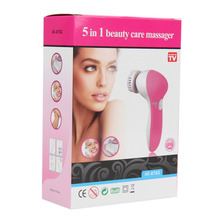 Electric Face Cleanser Massager Multinational Female Facial Cleansing Brush Deep Clean Washing Face Skin Care Spa Beauty