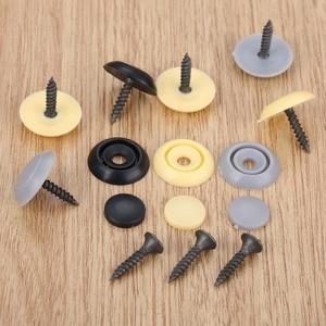 Image 2 - Yetaha 50Pcs Car Roof Button Snap Rivets Retainer Auto Screw Clips Plastic Black Grey Beige Plastics Fasteners