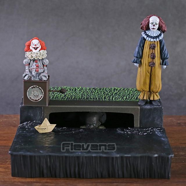 NECA de Stephen King é Pennywise Acessório Set PVC Action Figure Collectible Modelo Toy