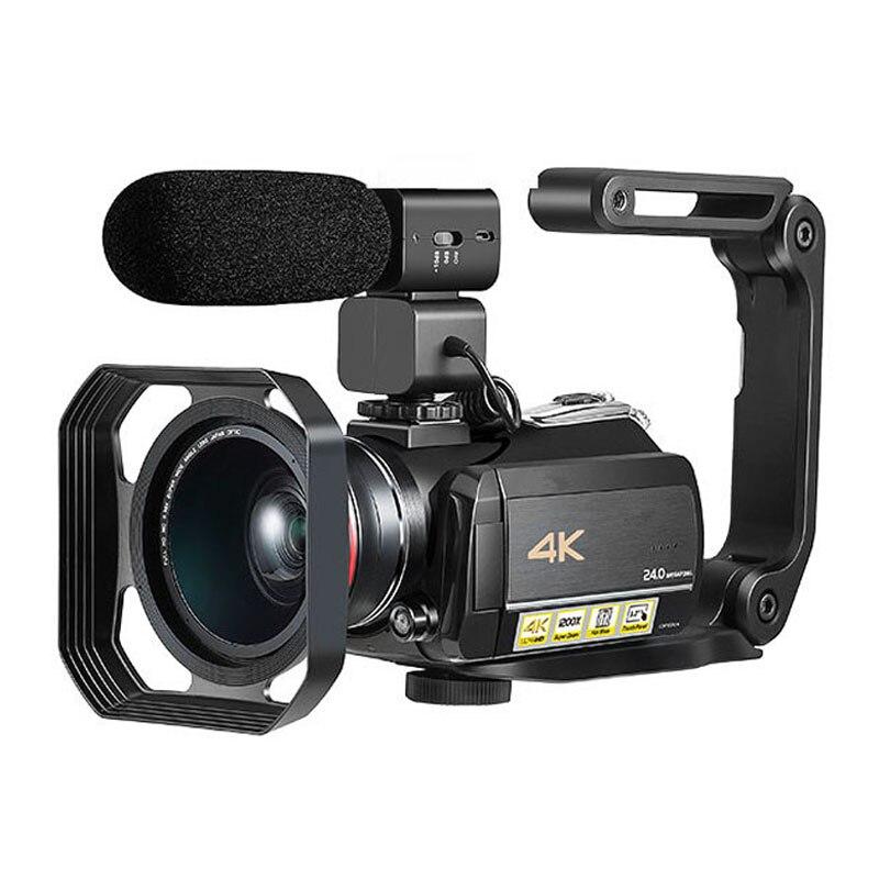Winait professionnel usage domestique super 4 k caméra vidéo numérique, caméscope vidéo numérique wifi
