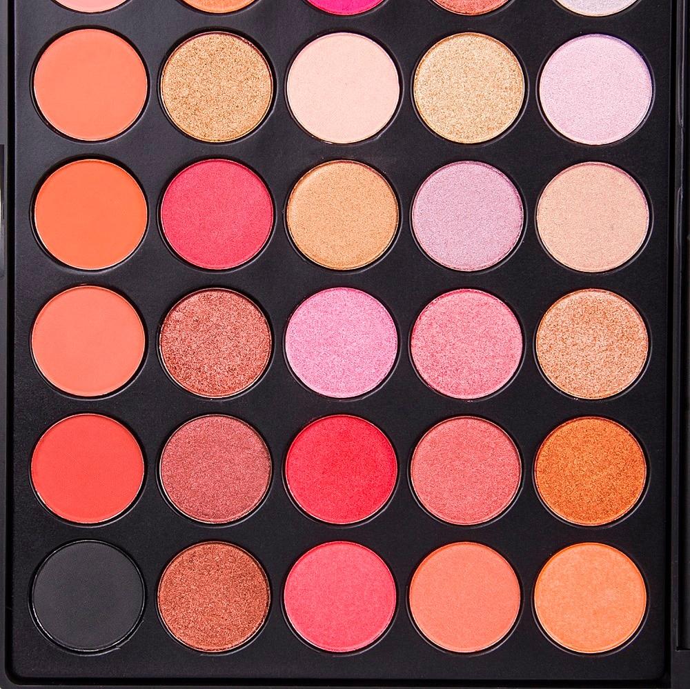 Aliexpress.com : Buy DE'LANCI Makeup 35 Colors Metallic Eyeshadow ...