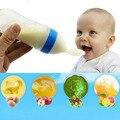 90 ml Squeeze Alimentação Colher de Sílica Gel Garrafa de Leite Do Bebê Da Criança Suplemento Alimentar Colher Arroz Colher de Sopa Copos Garrafas de presente de natal