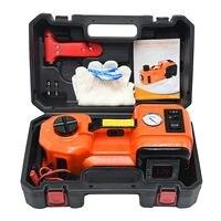3 IN 1 Muti Function Car Electric Hydraulic Floor Jack LED Flashlight Tool Set Universal For