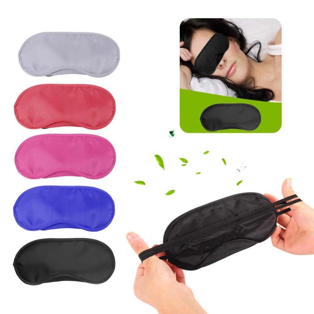 Seyahat Uyku Istirahat Uyku Yardım Maskesi göz bandı Kapağı Konfor Körü Körüne Kalkan Sıcak!