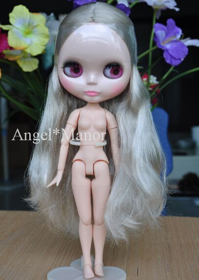 все цены на jointed doll,Nude blyth doll with jointed body, grey hair, For Girl's Gift,Valentine's day present,Christmas present онлайн