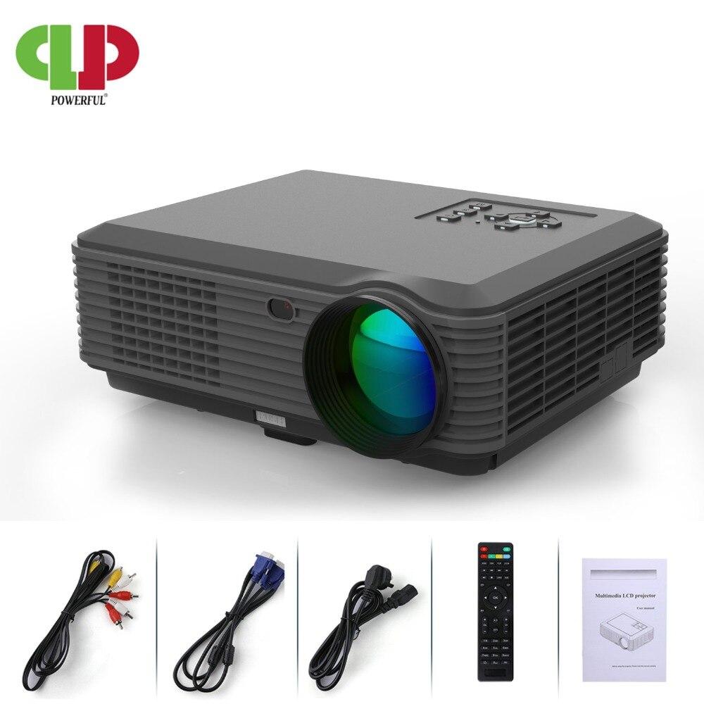 Projecteur puissant SV-228 vidéoprojecteur full hd LED 1280*800 1080 P 4 K affichage Home TV vidéo cinéma projecteur projecteur LCD