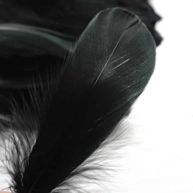 100 pcs Tự Nhiên Lông Ngỗng Chùm 8-12 cm Đầy Màu Sắc Thiên Nga Feather Plume đối với Trang Chủ Trang Trí Thủ Công DIY Đồ Trang Sức trang trí