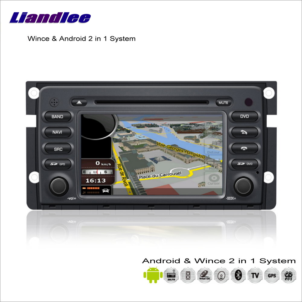 Liandlee Android Multimedia System For Smart Fortwo W451 2007 2013 Radio BT CD DVD Player GPS