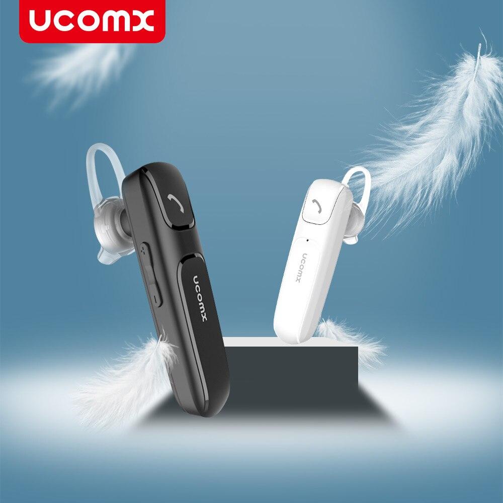 UCOMX Wireless Bluetooth Earphone Headphone Hands-free Headset Earbud with Mic Earpiece for iPhone Samsung Redmi fone de ouvido wireless headphone bluetooth earphone hd headband headset with mic headsfree earpiece for android ios samsung iphone lg motorola