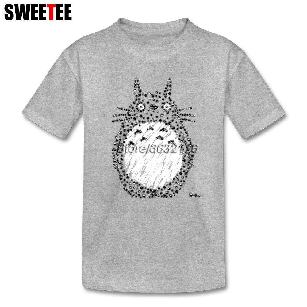 Children Teeshirt T Shirt Infant Toddler Totoro Pure Cotton Boy Girl 2018 T-shirt Round Neck Kid Tshirt