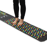 Foot Leg Massage Mat Walk Stone Relieve Walk Stone Foot Massage Mat Blood Circulation Foot Massage Machine Health Care