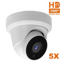 5MP 2MP Startlight 5X Zoom lens IP Camera POE IP Cam IP66 H265 WDR Plug & Play with Hikvision NVR with Sony CMOS Sensor