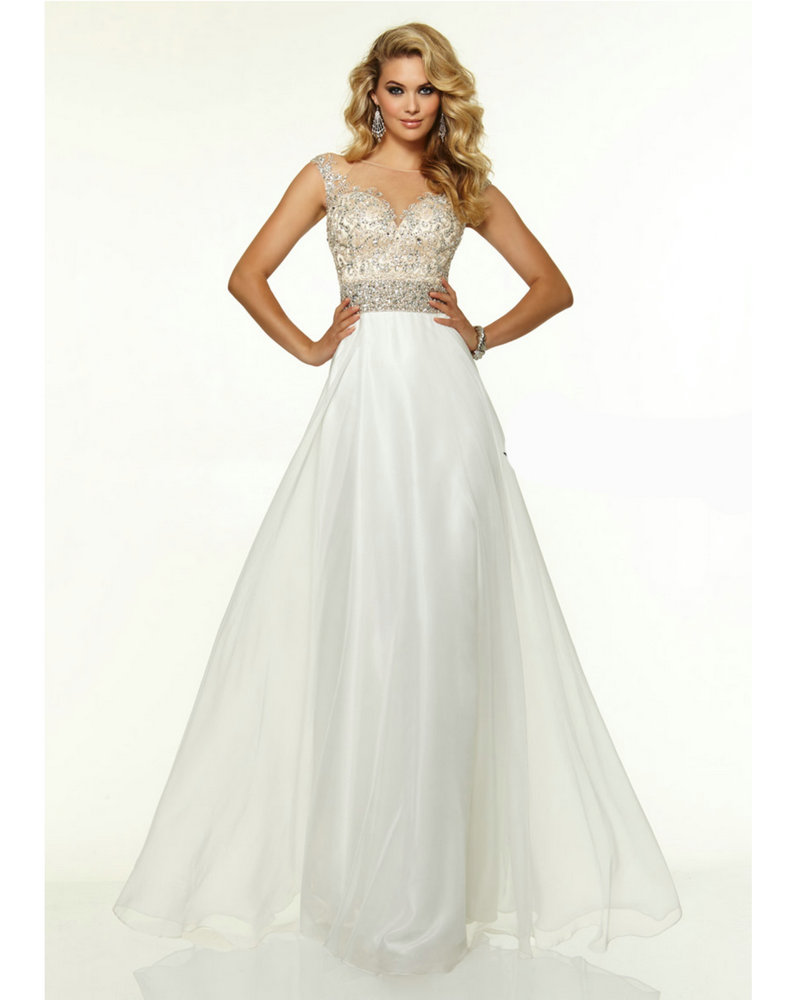 b1867b3a2 Vestidos para graduacion largos blancos - Vestidos formales