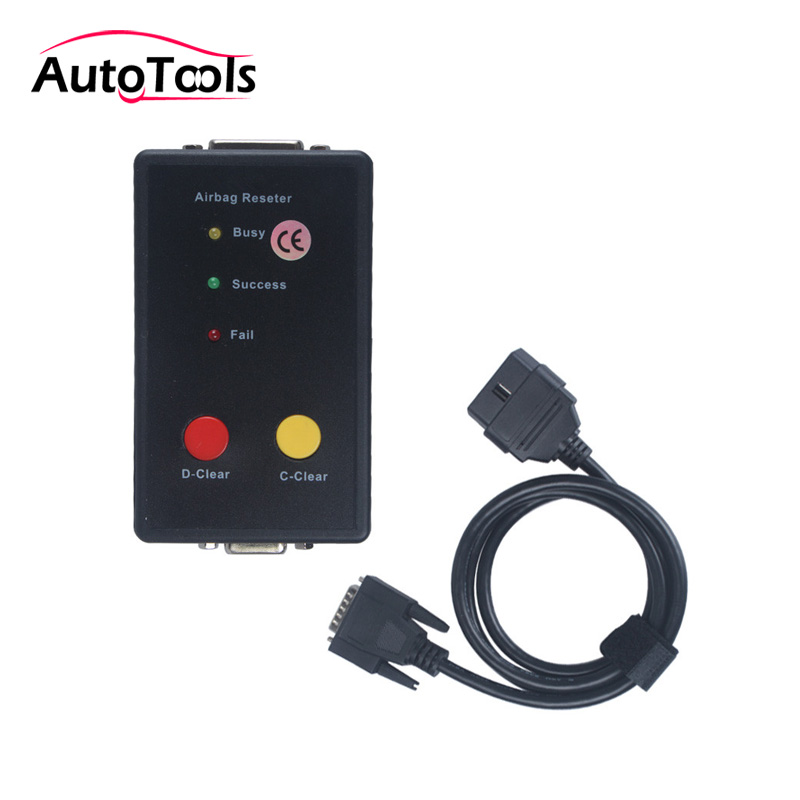 Auto car airbag resetter erase airbag sensor support crash data and fault memory erase reset tool