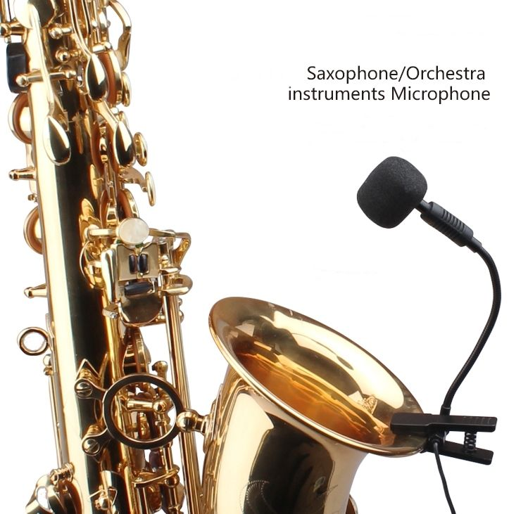 ACEMIC ST-10 Pro Wired Saxophone Microphone High Fidelity Voice acemic bt 10 pro wired acoustic bass microphone high fidelity voice