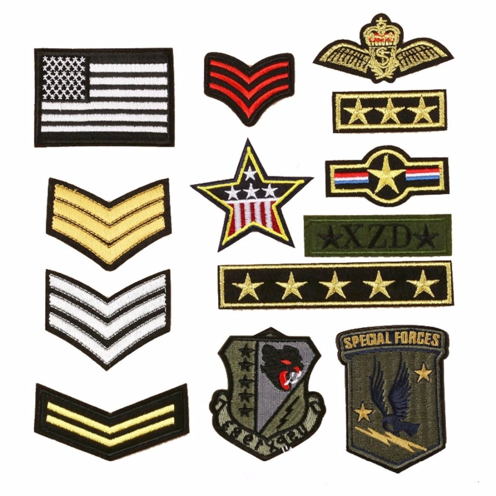 Navy Ensign Militairy Belgium Flag Cufflinks Tie Clip Box Gift Set