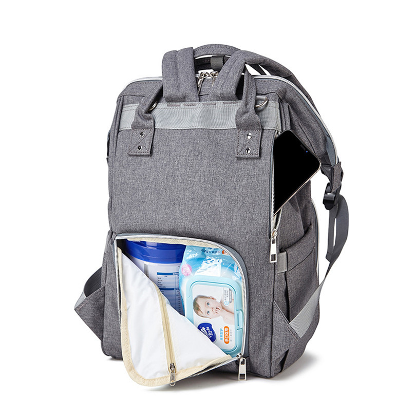 2018 New Mummy Bag Fashion Wild Shoulder Bag Diaper Bag Maternal And Child Package Multi-function Large Capacity Mummy BagSZZ151 multi function large capacity shoulder mummy bag fashion out of the baby bag maternal and child shoulder bag one generation