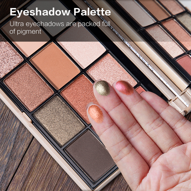 SACE LADY Eyeshadow Palette Makeup Glitter Eye Shadow Pallete Professional Matte Shadow Make Up High Pigment Nude Cosmetic 3
