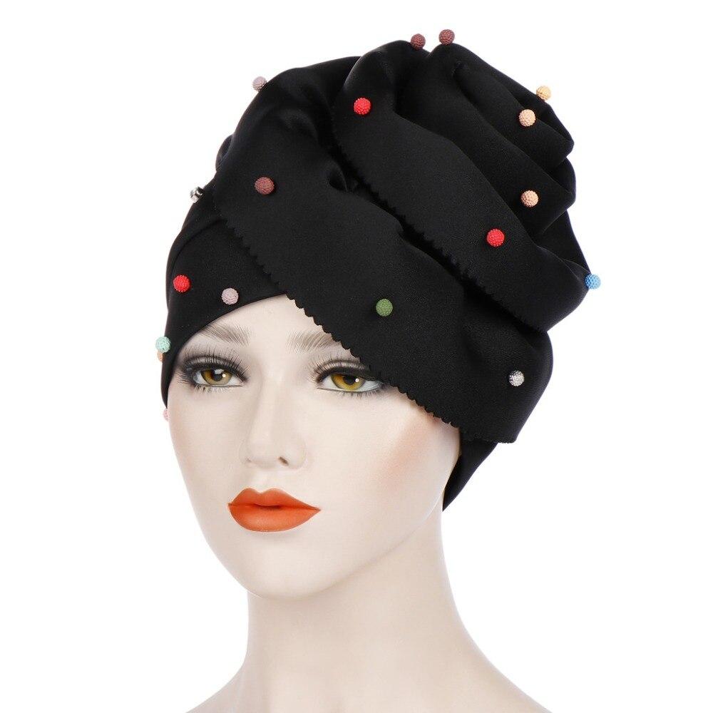 Turbante Stile,Fascia per Capelli Cappello Bandana Sciarpa Caduta Dei Capelli
