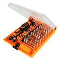 JAKEMY 52 в 1 Профессиональная Отвертка Мульти-инструмент Комплект для Ремонта часы Телефоны ПК Электронный Обслуживание parafusadeira