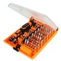 JAKEMY 52 en 1 juego de Destornilladores Profesional Multi-tool Kit de Reparación de Teléfonos reloj PC Mantenimiento Electrónico parafusadeira