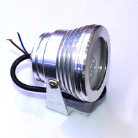 AC 85-265V 3W led underwater lights red blue green ip68 waterproof underwater swimming pool lights fountain pond lights