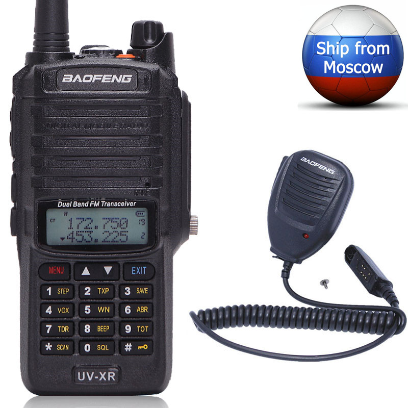 Baofeng 10W UV XR Dual Band CB Radio IP67 Waterproof Powerful Walkie Talkie Long Range UV