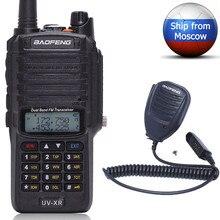 Baofeng 10W UV XR Dual Band CB Radio IP67 Wasserdichte Leistungsstarke Walkie Talkie Long Range UV XR Zwei Weg Handheld radio + Lautsprecher Mic
