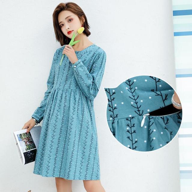 Robe coton pour femme enceinte