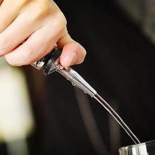лучшая цена 1pc Stainless Steel Cocktail Wine Olive Oil Pourer Dispenser Spout Glass Bottle Pour Dispenser Wine Bar Accessories